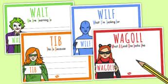 t-t-12829-superhero-villain-themed-walt-wilf-tib-wagoll-posters
